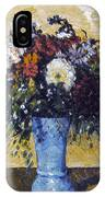 Cezanne: Flowers, 1873-75 IPhone Case