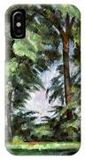 Cezanne: Trees, C1885-87 IPhone Case