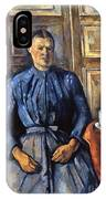Cezanne: Woman, 1890-95 IPhone Case