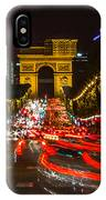Champs Elysees IPhone Case