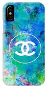 Chanel Blue White Red Black 10 IPhone Case