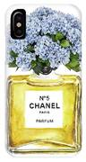 Chanel N.5 Yellow Bottle IPhone Case