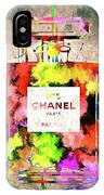 Chanel No. 5 Colored  IPhone Case