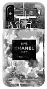 Chanel No. 5 Dark IPhone Case