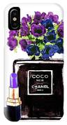 Chanel Noir Perfume Bottle IPhone Case