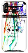 Chanel No. 5 White IPhone Case