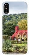 Changing Colours Of Tu Hwnt I'r Bont IPhone Case