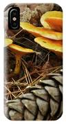 Chanterell Mushrooms  IPhone Case