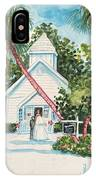 Chapel By The Sea Captiva IPhone Case