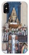 Chapel Mortuary Interior - San Xavier Del Bac Mission - Tucson Arizona IPhone Case
