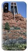Chapel Of The Holy Cross - Arizona IPhone Case