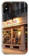 Chapellerie Bruyas Hat Store IPhone Case
