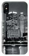 Charcoal Panoramic In Pittsburgh 2017 IPhone Case