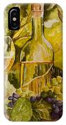 Chardonnay At The Vineyard IPhone Case