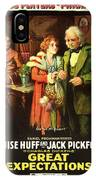 Charles Dickens' Great Expectations 1917 IPhone Case