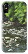 Charles On The Rocks IPhone Case