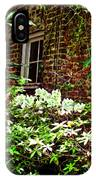 Charleston Alley Window IPhone Case
