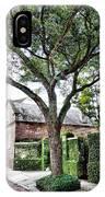 Charleston Church Street Live Oak And Ivy IPhone Case