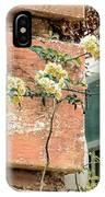 Charleston Climbing Rose IPhone Case