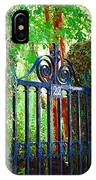 Charleston Gate 1 IPhone Case