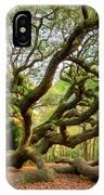 Charleston Sc Angel Oak Tree South Carolina Landscape IPhone Case