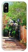 Charlestons Alley IPhone Case