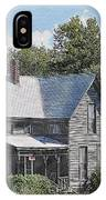 Charming Country Home IPhone Case