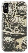 Charming Seashore Symbols IPhone Case