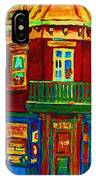 Charming Store  On The Corner IPhone Case