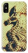 Charming Vintage Seahorse IPhone Case