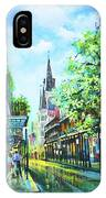 Chartres Afternoon IPhone Case
