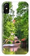 Chartres, France, Park On L'eure River IPhone Case