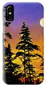 Chasing The Moon IPhone Case