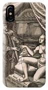 Chastity Belt IPhone Case