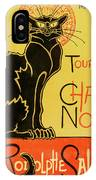 Chat Noir IPhone Case