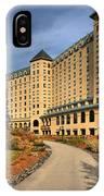 Chateau Lake Louise Panorama IPhone Case