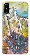 Chateau Cathare De Puylaurens 01 - France IPhone Case