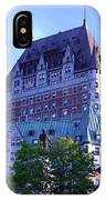 Chateau Frontenac, Montreal IPhone Case