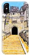 Chateau Saumur, A Long Way Up IPhone Case