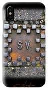 Checker Sv IPhone Case
