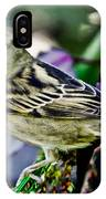Cheeky Sparrow IPhone Case