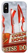 Cheese Dogs Galore IPhone Case