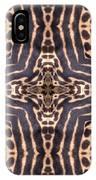 Cheetah Cross IPhone Case