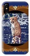 Cheetah Lean And Mean IPhone Case