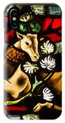 Chenonceau Stained Glass IPhone Case