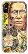 Cherokee Chief With Friend Mr.p IPhone Case