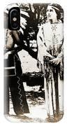 Cherokee Indian Couple IPhone Case