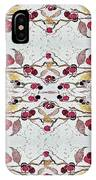 Cherries Still On The Branch IPhone Case