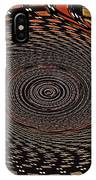 Cherry Basket Weaving Abstract IPhone Case