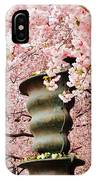 Cherry Blossom In Stockholm IPhone Case